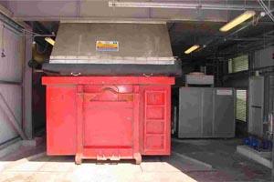 sludge dryer-container dryer