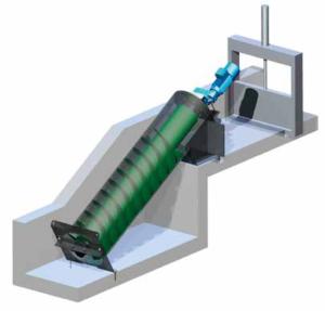 screw generator-tube screw turbine